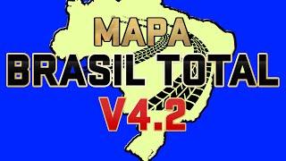 DOWNLOAD MAPA BRASIL TOTAL 4.2, Euro Truck Simulator 2