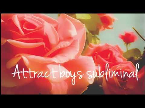 Subliminal// attract boys // unisex
