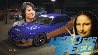"""Fast & Furious Han's Nissan Silvia S15 """"MONALISA"""" Tokyo Drift - NEED FOR SPEED 2015 PS4"""