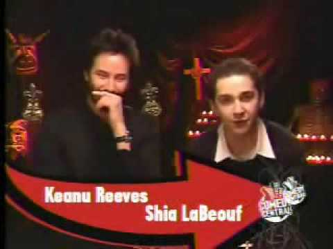 Shia LaBeouf and Keanu Reeves talk about Constantine