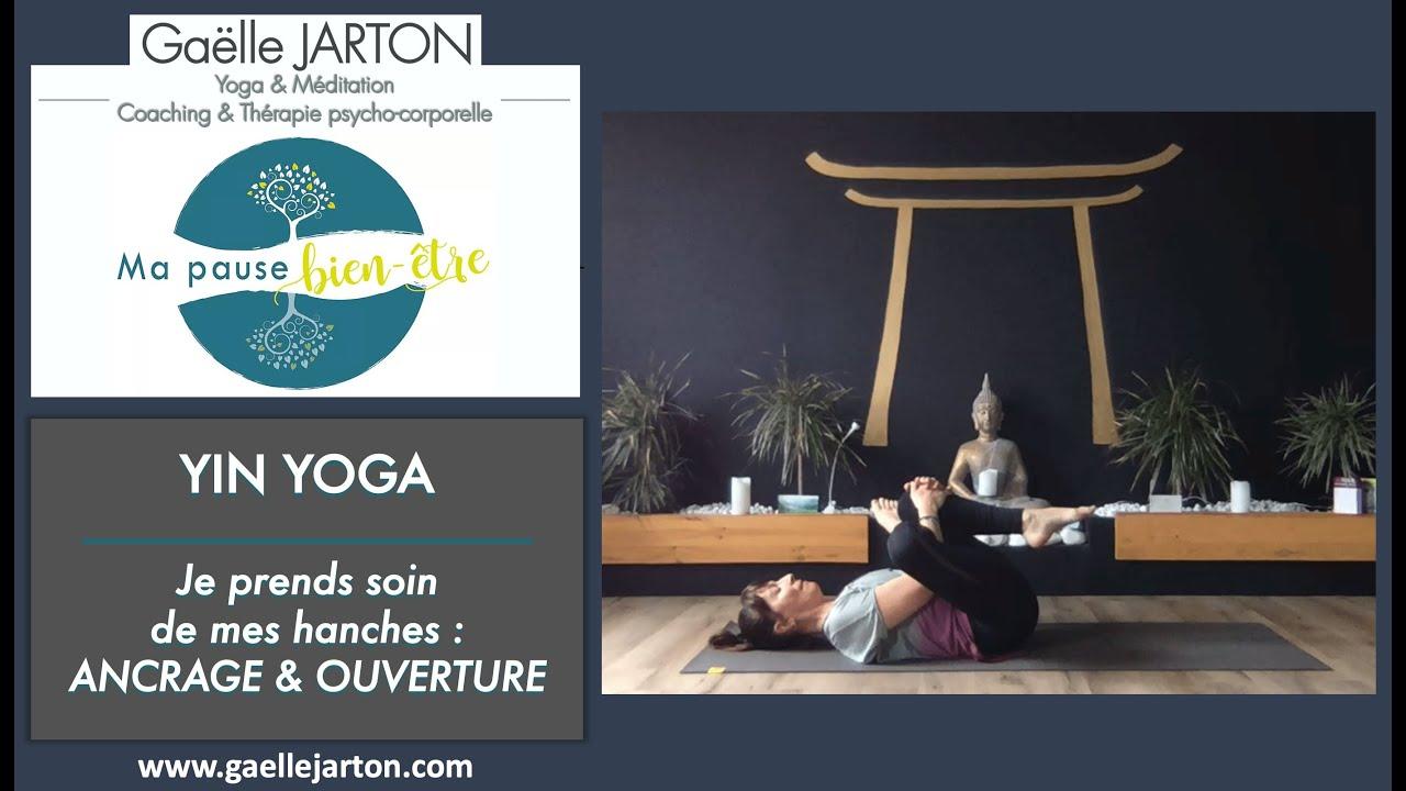 """Nouvelle vidéo de Yin Yoga spéciale """"Hanches"""", dispo maintenant sur ma chaine YouTube 🧘♂️🧘♀️ !!!"""