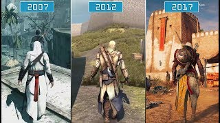 All Assassin's Creed Games (2007- 2017) | Graphics Evolution HD