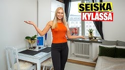Miss Suomi Alina Voronkova esittelee yksiönsä - paljastaa hauskan ruokailupaikkansa!