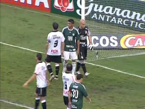 Palmeiras 1 (5) x (6) 1 Corinthians - Campeonato Paulista 2011 - Semifinal - melhores momentos