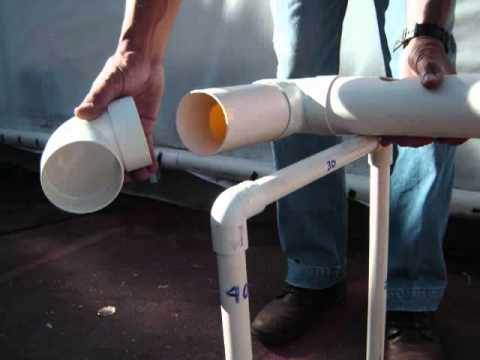 sistema cultivo hidroponico NFT- بدون تربه - التصميم للزراعه المائيه
