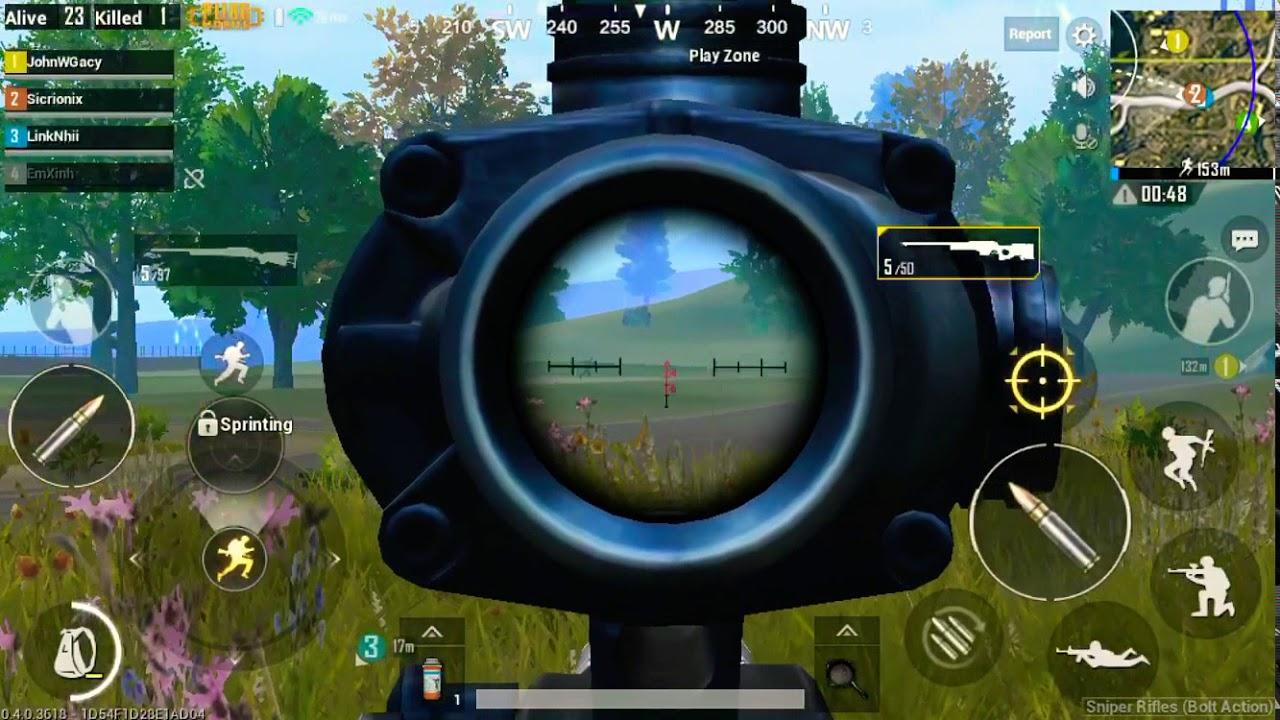 Gyroscope Snipe PUBG Mobile