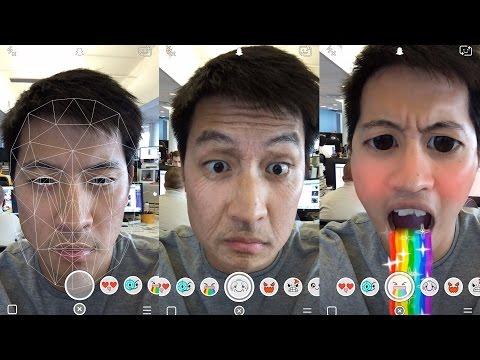 New Snapchat Selfie Filters