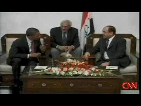 CNN - Obama, al-Maliki meet