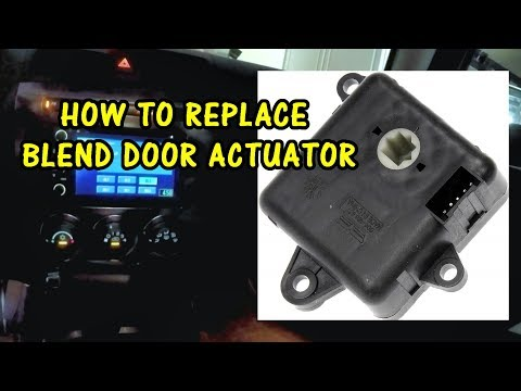 HOW TO REPLACE A BLEND DOOR ACTUATOR | 2007 Hummer H3