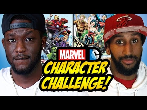 CHARACTER CHALLENGE: MARVEL vs DC
