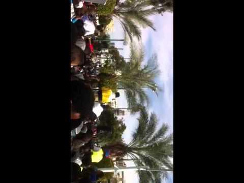 African migrants demonstration against Israeli pol