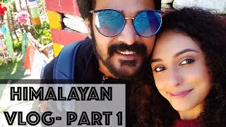 Himalayan Vlog   Part 1   Pearle Maaney   Srinish Aravind  Cochin to Kasol