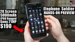 Elephone Soldier: This Phone Is Not Fake? Hands-on Preview