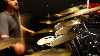 meshuggah soul burn drum cover