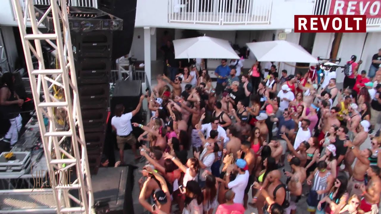 wmc revolttv pool party the kitchen feat dj craze waka flocka