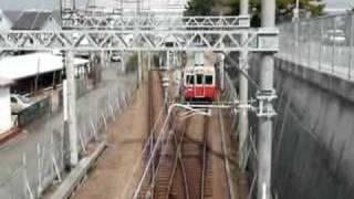 南武橋を渡ろうとしたら電車が来たので.