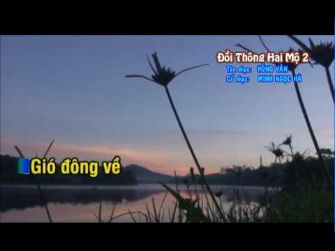 KARAOKE TC DOI THONG HAI MO 2 NGAN CHAU SONG CA