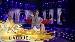 Happy Asmara menyanyikan [Wes Tatas] Bikin Kagum   Live Duel   Rising Star Indonesia Dangdut