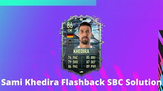 Sami khedira flashback sbc solution madfut 21