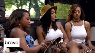 RHOA: Was Porsha Williams Attacked About Her Anger Management? (Season 9, Episode 12) | Bravo