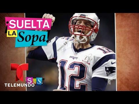 Recuperan jersey robado de Tom Brady | Suelta La Sopa | Entretenimiento