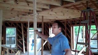 Rosedale Renovation - Girder Truss Installation