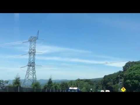 Powerful 500kV High Tension Power Lines.