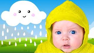 Rain rain go away with Stefy and Dasha | Songs fo children