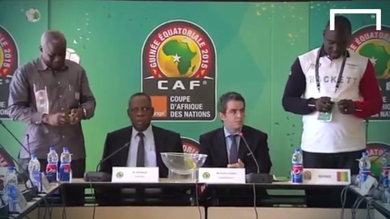 Guinea And Mali Draw Lots To See Who Progresses Youtube