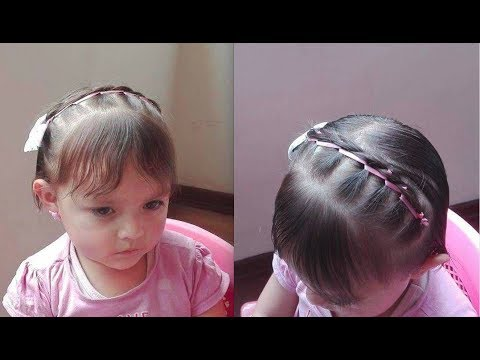 Peinados para bebes en pelo corto