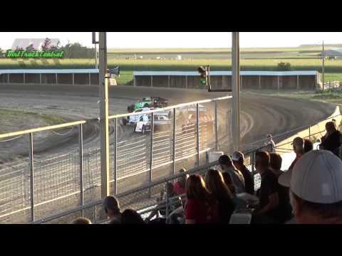 IMCA Spoort Mod Heats Thomas County Speedway 8-14-15