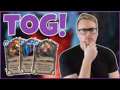Hearthstone | TogChamp | Wild Togwaggle Mill Warlock | Rise of Shadows