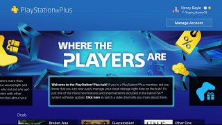PlayStation®Plus hub