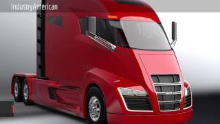 Tesla Semi: Tesla Motors' upcoming all-electric heavy-duty truck.