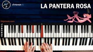 Como tocar LA PANTERA ROSA En piano | Principiantes Facil