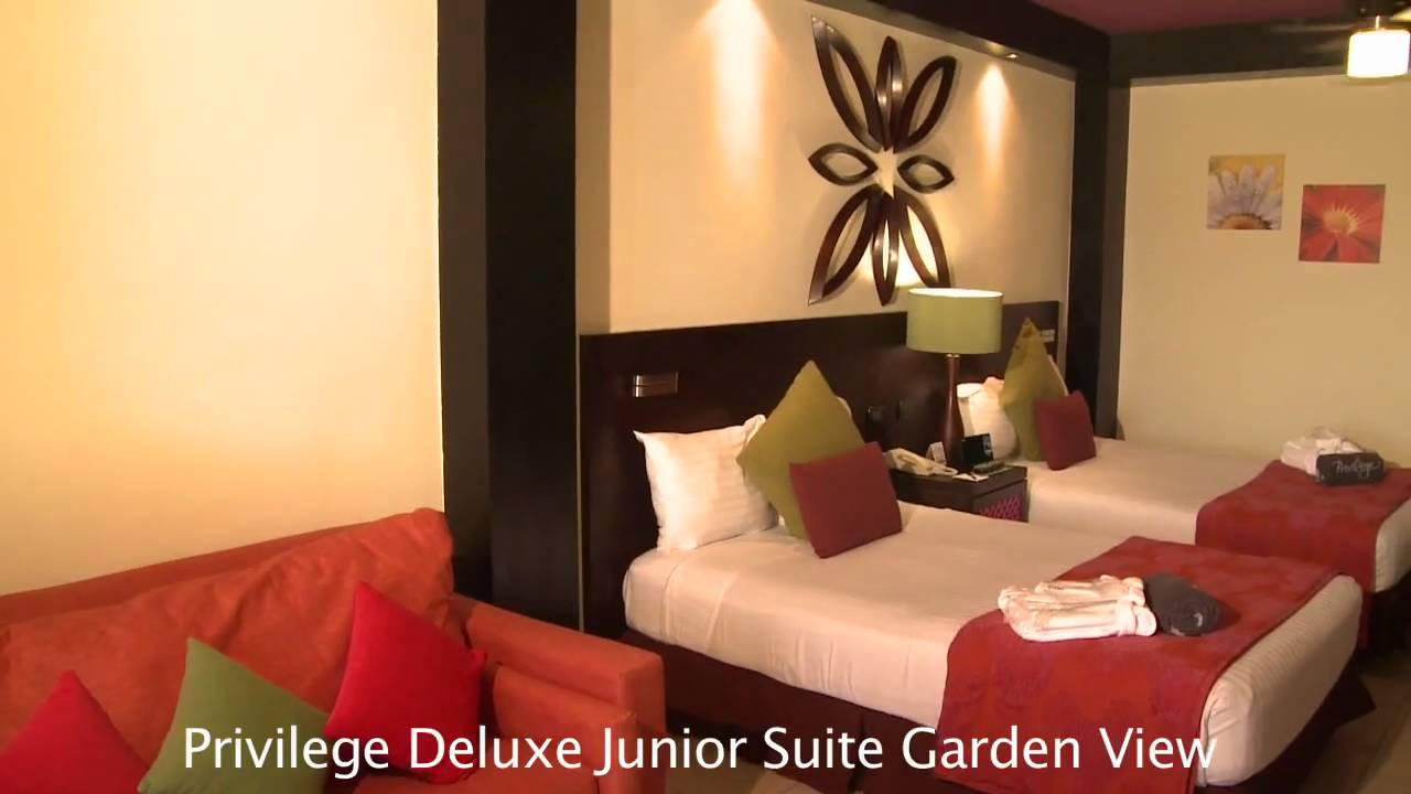Ocean Turquesa By H10 Privilege Deluxe Junior Suite Garden View Room Preview Youtube
