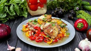 Курица со сладким перцем - Рецепты от Со Вкусом