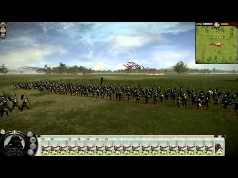 Total War: Shogun 2 Fire Rockets VS Peasants |