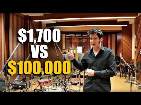 $1700 vs. $100000 Microphone Setup? - Warren Huart: Produce Like A Pro