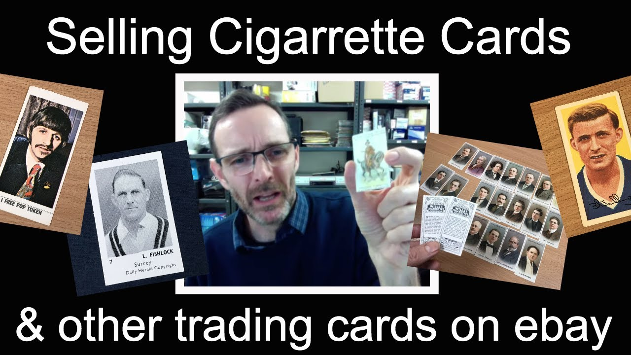 Selling Cigarrette Cards On Ebay Other Trading Cards Youtube