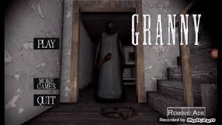 Jogado granny deu ruim (granny the horror