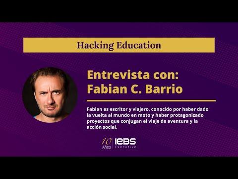 @Fabián C. Barrio Entrevista | Hacking Education ? #001