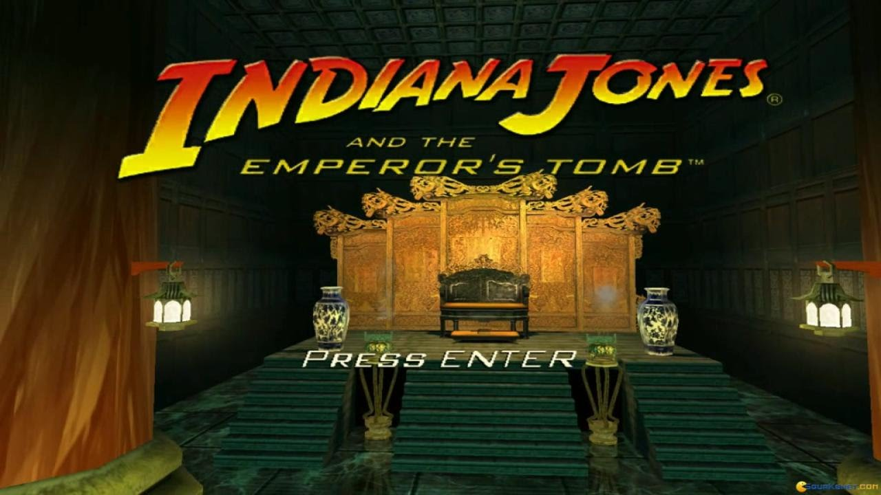 Indiana Jones and the Emperor's Tomb gameplay (PC Game, 2003)