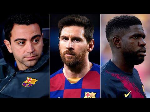 Barcelona News Round-Up ft Lionel Messi's Future, Xavi Hernandez, Samuel Umtiti's Injury & La Masia!