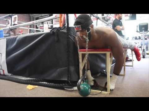BUILDING THE MONSTER!! - ANTHONY JOSHUA MUSCLE NECK WORKOUT / iFL TV