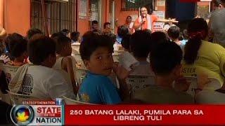 SONA: 250 batang lalaki, pumila para sa libreng tuli sa Quezon City