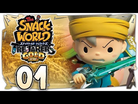 The Snack World: Trejarers Gold | The Start of a Great Adventure! [Chapter 1 on Nintendo Switch]
