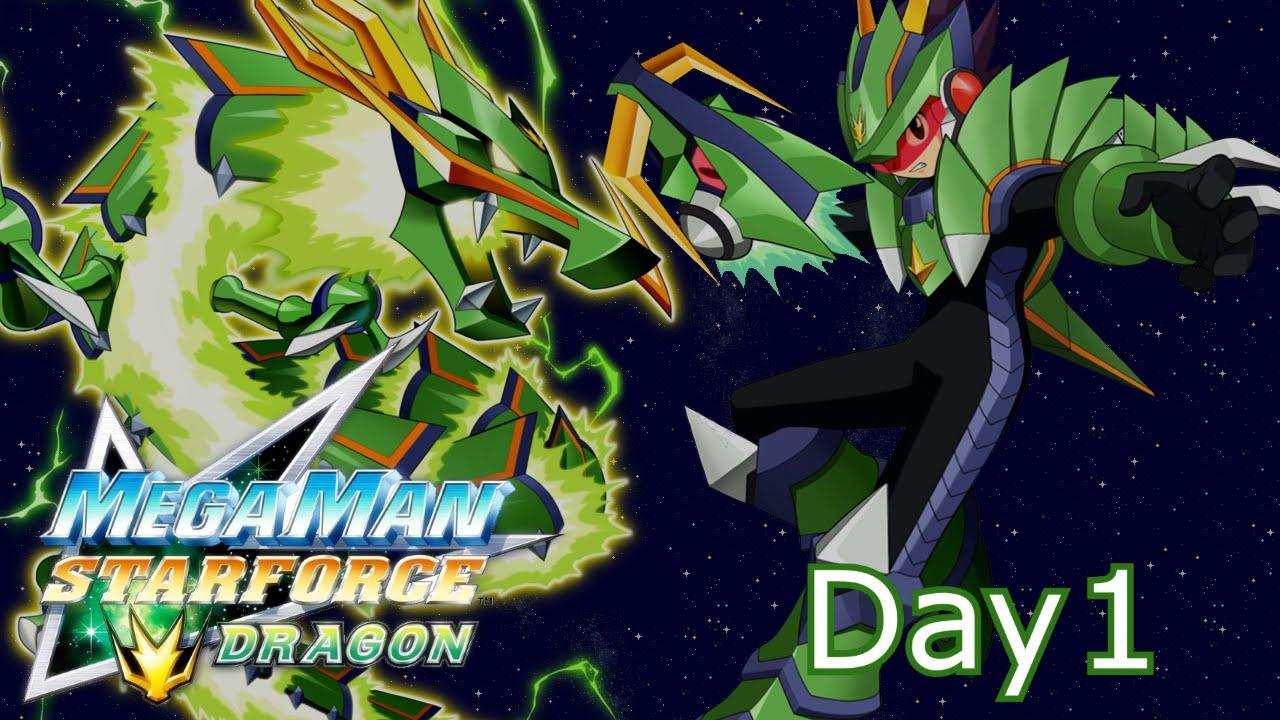 Mega Man Star Force: Dragon - Mega Stream - Part 1: # ...