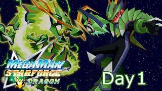 Mega Man Star Force: Dragon - Mega Stream - Part 1: #TeamSonia