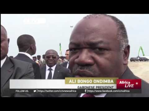 Gabon's President commissions key economic zone project